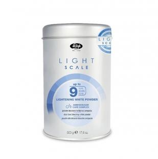 купить Обесцвечивающий белый порошок Light Scale 9 Lightening White Powder 500г
